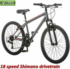 "24"" ROADMASTER MOUNTAIN BIKE BOY'S FRONT SUSPENSION Sport Bicycle Shimano NEW!"