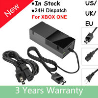 For Microsoft XBOX ONE Console AC Adapter Brick Charger Power Supply Cord Cable=