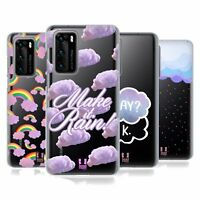HEAD CASE DESIGNS COTTON CANDY CLOUDS SOFT GEL CASE FOR HUAWEI PHONES