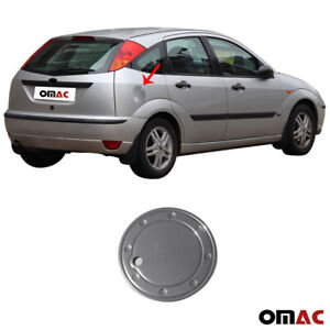 Fits Ford Focus 2000-2004 Chrome Fuel Gas Tank Door Cover Stainless Steel