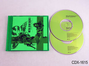 Metal Gear Solid 3 Snake Eater OST Soundtrack Konami CD Japan 2004 US Seller