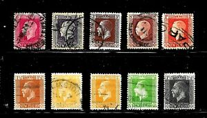 HICK GIRL-USED NEW ZEALAND STAMPS   1915-19  KING GEORGE V     D959