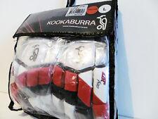 KOOKABURRA CCX 700 YOUTHS LH BATTING GLOVES RED/WHT *BRAND NEW* PGA1223L