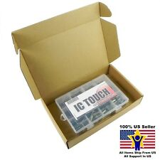 12value 120pcs Electrolytic High Frequency Capacitor Box Kit US Seller KITB0051