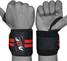 AQF Weight Lifting Wrist Wraps Bandage Hand Support Gym Straps Brace Cotton AU
