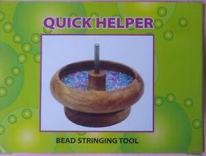 Bead Stringing Spinner Bowl Friendship Bracelet Jewellery Making