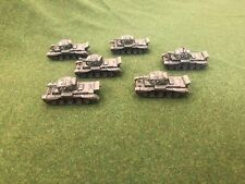Flames of War British Cromwell CS 95mm Lot X7 Painted FOW