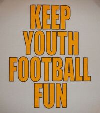 FOOTBALL - KEEP YOUTH FOOTBALL FUN - Men's size XL - Graphic T-Shirt