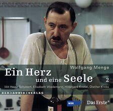 WOLFGANG MENGE : EIN HERZ UND EINE SEELE 2 / CD (HÖRBUCH) - TOP-ZUSTAND
