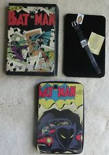 Batman Limited Edition of 2000 #191 Fossil Watch Black Leather Band New