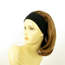 Stirnband Perücke frau mit lang Dunkelblond Docht blonde klar MADY 6BT27B