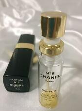🌟 VINTAGE CHANEL No 5 PARFUM PERFUME 15ml REFILLABLE SPRAY IN CASE  empty