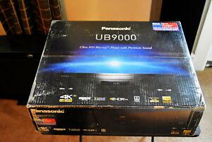Panasonic DP-UB9000P-K High-End 4K UHD 3D Blu-Ray Player Black