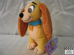 """""""Lady"""" Lady & the Tramp plush doll 6.5 inch Applause"""