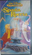 VHS - WALT DISNEY/ LA SPADA NELLA ROCCIA