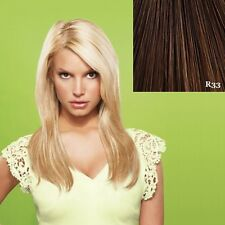"""Jessica Simpson HairDo Ken Paves 22"""" Straight Hair Extensions clip"""