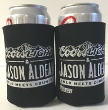 Coors Light Jason Aldean Beer Can / Bottle Koozie Cooler ~ TWO (2) ~ New & F/S