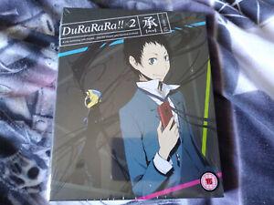 DuRaRaRa X2 Shou Collectors Edition Blu Ray UK Version New And Sealed