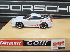 Carrera GO Porsche Carrera GT3 RSR Tuning Motor Reifen Magnet SMD Licht Weiß Rot