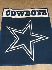BIEDERLACK Blanket DALLAS Cowboys NFL Football THROW Soft 50x45