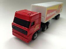 "Matchbox - DAF 3300 Space Cab Truck Sattelzug "" McDonalds "" 1:86 Convoy 1987"