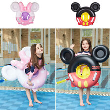 Cute Micky Inflatable Baby Toddlers Swimming Seat Float Pool Fish Ring For Kids