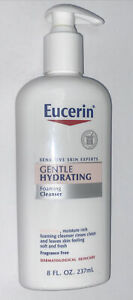 Eucerin Gentle Hydrating Foaming Cleanser - 8 oz / 237 mL