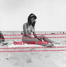 "1954 Sexy BETTIE PAGE 8x10 Photo ""QUEEN OF PIN-UPS"" FLORIDA Beach Shoot BIKINI"