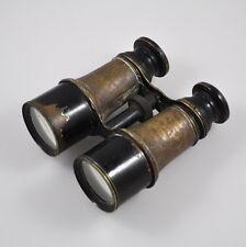 Jumelle Marine - altes Fernglas - Binoculars - WW1 - WK1 - Frankreich - defekt
