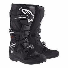 AlpineStars Boots Tech 7 Black Riding Motocross Racing Motorcycle Men