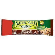 Nature Valley - Barre de céréales - avoine et chocolat - lot de 6 barres de 42 g