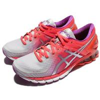 Asics Gel-Kinsei 6 VI Pink Silver Women Running Shoes Sneaker Trainer T694N-9693