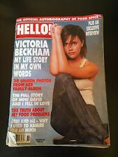 Hello UK Magazine Victoria Beckham Posh Spice September 11 2001