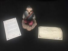 Madame Alexander Classic Big Bad Wolf Figurine 2000 Certificate of Authenticity