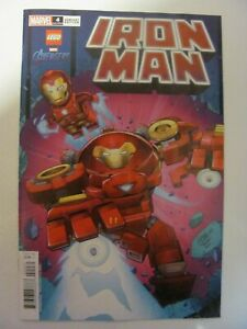 Iron Man #4 Marvel Comics 2020 Series Lego Variant 9.6 Near Mint+