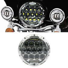 7 inch Motorcycle LED Headlight Hi-Lo Beam with DRL for Harley Davidson Touring
