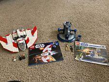 LEGO Star Wars Armored Assault Tank (AAT) 8018 & T-6 Jedi Shuttle 7931 Lot