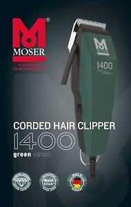 MOSER Haarschneider  EDITION 1400 green Edition - Haarschneidemaschine grün NEU