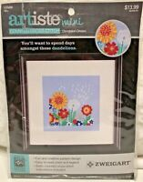 Artiste Mini Counted Cross Stitch Dandelion Dream Zweigart New In Sealed Package