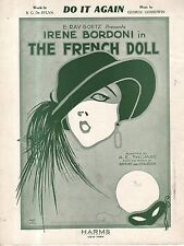 1922 Do It Again by George Gershwin and B G De Sylva from The French Doll
