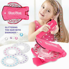 Kids Makeup Set Toys for Girls Role Play Sticker Drill Creative Children's Gifts