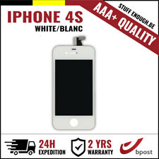 AAA+ LCD TOUCH SCREEN VITRE TACTILE SCHERM/ECRAN WHITE BLANC FOR IPHONE 4S