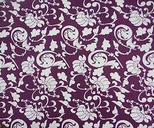 Lila Baumwolle Nähen Stoff AsiatischenKleid Handwerksstoff By The Metre