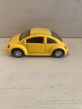 1998 New Volkswagen Beetle Speedy Power Yellow 1/32 Scale