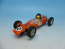 Scalextric C82 Lotus in orange, made in France, very clean car