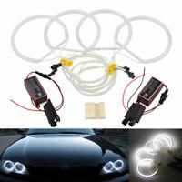 4x Angel Eyes Ringe Halo LED 131MM Standlicht Lampe Für E36 E38 E39 Scheinwerfer