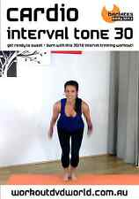 Cardio Toning HIIT EXERCISE DVD - Barlates Body Blitz CARDIO INTERVAL TONE 30