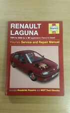 RENAULT LAGUNA 1994-2000 L-W HAYNES WORKSHOP MANUAL 3252 IN CLEAN COND FREE P&P
