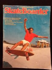 Vintage Skateboarder Skate Skateboard Magazine Issue August 1976 Bob Jarvis