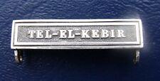 More details for egypt medal 1882 original clasp tel el kebir silver